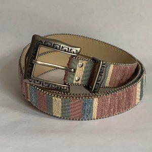 Elite Fresno CA Pastel colors vintage woman's belt